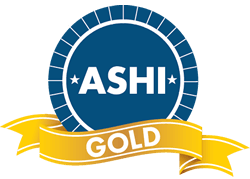 ASHI American Society Of Home Inspectors Gold Endorsement